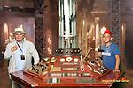 Sylvester McCoy and TARDIS