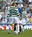 20/08/2005         Copyright Pic : James Stewart.File Name : jspa16 rangers v celtic.NEIL LENNON SQUARES UP TO NACHO NOVO.....Payments to :.James Stewart Photo Agency 19 Carronlea Drive, Falkirk. FK2 8DN      Vat Reg No. 607 6932 25.Office     : +44 (0)1324 570906     .Mobile   : +44 (0)7721 416997.Fax         : +44 (0)1324 570906.E-mail  :  jim@jspa.co.uk.If you require further information then contact Jim Stewart on any of the numbers above.........