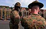 Moments from the Marine Corps Recruit Depots - boot camps - at Parris Island and San Diego.