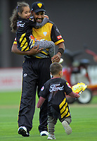 Jeetan Patel walks off after the end of the Firebirds' fielding innings during the Dream11 Super Smash T20 cricket match between the Wellington Firebirds and Central Stags at Basin Reserve in Wellington, New Zealand on Thursday, 18 December 2019. Photo: Dave Lintott / lintottphoto.co.nz