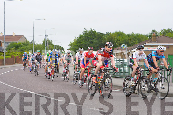 CYCLE RACE: The Tralee GP cycle race going through Killeen Road, Tralee on Sunday.