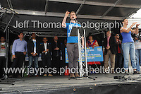 Peoples March for the NHS - Central London, Saturday 6th Sept 2014 - <br /> <br /> Journalist and author Owen Jones<br /> <br /> <br /> <br /> <br /> Photographer: Jeff Thomas - Jeff Thomas Photography - 07837 386244/07837 216676 - www.jaypics.photoshelter.com - swansea1001@hotmail.co.uk