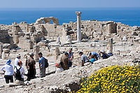 CYPRUS, near Limassol (Lemesos), Kourion: archaelogical excavation<br />