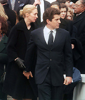 John Kennedy Jr & Carolyn Bessette (wife) 1998<br /> Photo By John Barrett-PHOTOlink.net