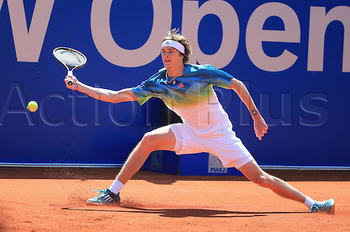 29.04.2016, Munich, Germany.  BMW Open 2016 MTTC Iphit Munich.  Alexander Zverev (GER)
