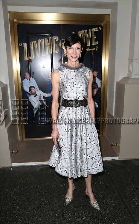 Amy Fine Collins attends the Broadway Opening Night Performance of  'Living on Love'  at  The Longacre Theatre on April 20, 2015 in New York City.