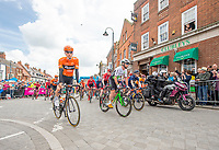 Picture by SWpix.com - 03/05/2018 - Cycling - 2018 Tour de Yorkshire - Stage 1: Beverley to Doncaster - Race roll out