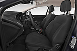 Front seat view of a 2015 Ford Focus Titanium 5 Door Wagon Front Seat car photos