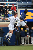 Northwestern University defeats Penn State University 2-1 in the 2011 Big Ten Men's Soccer Tournament at the University of Michigan, November 13th, 2011