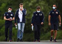 16th July 2020, Hungaroring, Budapest, Hungary; F1 Grand Prix of Hungary, drivers arrival and track inspection day;  26 Daniil Kvyat RUS, Scuderia AlphaTauri Honda