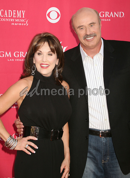 15 May 2007 - Las Vegas, Nevada - Dr. Phil McGraw and wife Robin McGraw. 42nd Annual Academy Of Country Music Awards held at the MGM Grand Garden Arena. Photo Credit: Byron Purvis/AdMedia
