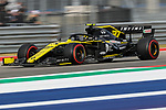 Renault driver Nico Hulkenberg (27) of Germany in action during the Formula 1 Emirates United States Grand Prix practice session held at the Circuit of the Americas racetrack in Austin,Texas.