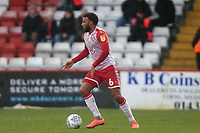 Tom Soares of Stevenage during Stevenage vs Salford City, Sky Bet EFL League 2 Football at the Lamex Stadium on 15th February 2020
