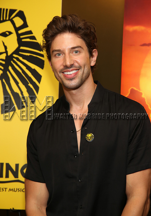 "Nick Adams attends the Broadway screening of the Motion Picture Release of ""The Lion King"" at AMC Empire 25 on July 15, 2019 in New York City."