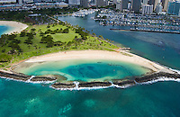 Ala Moana Beach Park, Magic Island