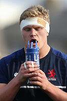 Rory Bartle of London Scottish ahead of the Greene King IPA Championship match between London Scottish Football Club and Jersey at Richmond Athletic Ground, Richmond, United Kingdom on 18 February 2017. Photo by David Horn / PRiME Media Images.