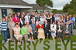 100 YEARS YOUNG: Catherine O'Connor (seated centre) formally of Abbeyfeale and now in Fatima Nursing Home celebrating her 100th birthday with her Children, Grand Children and Great Grand Children at the Church of Our Lady and St Brendan Parish Centre on Sunday.   Copyright Kerry's Eye 2008