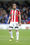 Sheffield United's Kieron Freemand in action during the League One match at the Kingsmeadow Stadium, London. Picture date: September 10th, 2016. Pic David Klein/Sportimage