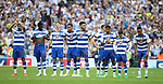 Reading's players look on dejected during the Championship Play-Off Final match at Wembley Stadium, London. Picture date: May 29th, 2017. Pic credit should read: David Klein/Sportimage