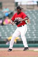 May 2, 2010:  Starting Pitcher Yoslan Herrera (37) of the Rochester Red Wings delivers a pitch during a game vs. the Durham Bulls at Frontier Field in Rochester, NY.  Rochester defeated Durham in extra innings by the score of 7-6.  Photo By Mike Janes/Four Seam Images