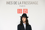Fashion model Louis Kurihara attends a media event for Uniqlo x Ines de La Fressange AW17 collection, on September 5, 2017, Tokyo, Japan. Japanese casual clothing chain Uniqlo and French fashion icon Ines de la Fressange are collaborating with a Fall/Winter 2017 collection which is being sold in selected Uniqlo stores from September 1st. (Photo by Rodrigo Reyes Marin/AFLO)