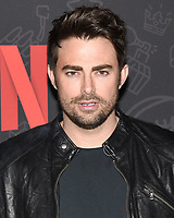"10 January 2020 - Beverly Hills, California - Jonathan Bennett. Netflix's ""AJ And The Queen"" Season 1 Premiere at The Egyptian Theatre in Hollywood. Photo Credit: Billy Bennight/AdMedia"