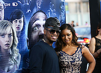 "LOS ANGELES, CA, USA - APRIL 16: Ne-Yo, Tamala Jones at the Los Angeles Premiere Of Open Road Films' ""A Haunted House 2"" held at Regal Cinemas L.A. Live on April 16, 2014 in Los Angeles, California, United States. (Photo by Xavier Collin/Celebrity Monitor)"