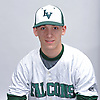 Thomas Eletto of Locust Valley poses for a portrait during Newsday's varsity baseball season preview photo shoot at company headquarters on Saturday, March 18, 2017.