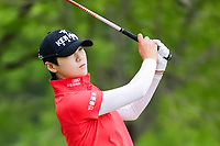 Sung Hyun Park (KOR) watches her tee shot on 3 during round 3 of  the Volunteers of America Texas Shootout Presented by JTBC, at the Las Colinas Country Club in Irving, Texas, USA. 4/29/2017.<br /> Picture: Golffile | Ken Murray<br /> <br /> <br /> All photo usage must carry mandatory copyright credit (&copy; Golffile | Ken Murray)