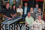 All ready for the start of the cross roads dancing on in Finuge Friday night were musicians Denis Crowley and Cathy Stack, Eileen and Roger Worster, Kathleen Lynch, Eileen Kelliher, Helen Keane, Edward \Kelleher and Kathleen Barrett...   Copyright Kerry's Eye 2008