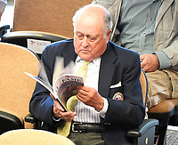 Scenes from the National Museum of Racing Hall of Fame ceremony (Jonathan Sheppard) on August 03, 2018 at the Fasig-Tipton Sales Pavilion in Saratoga Springs, New York. (Bob Mayberger/Eclipse Sportswire)