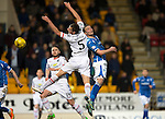 St Johnstone v Inverness Caley Thistle&hellip;09.03.16  SPFL McDiarmid Park, Perth<br />Gary Warren and Chris Kane<br />Picture by Graeme Hart.<br />Copyright Perthshire Picture Agency<br />Tel: 01738 623350  Mobile: 07990 594431
