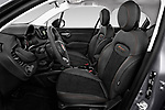Front seat view of 2019 Fiat 500X Cross-S-Design 5 Door SUV Front Seat  car photos