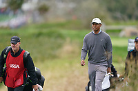 Tiger Woods (USA) walking off the 5th tee during the 3rd round of the US Open Championship, Pebel Beach Golf Links, Monterrey, Calafornia, USA. 15/06/2019.<br /> Picture Fran Caffrey / Golffile.ie<br /> <br /> All photo usage must carry mandatory copyright credit (© Golffile | Fran Caffrey)