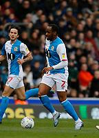 8th February 2020; Ewood Park, Blackburn, Lancashire, England; English Football League Championship Football, Blackburn Rovers versus Fulham; Ryan Nyambe of Blackburn Rovers