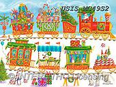 Ingrid, CHRISTMAS SYMBOLS, WEIHNACHTEN SYMBOLE, NAVIDAD SÍMBOLOS,train, paintings+++++,USISMC49S2,#xx#