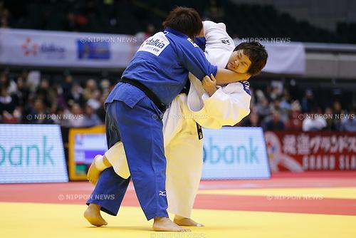Nami Inamori (JPN), DECEMBER 7, 2014 - Judo : <br /> IJF Grand Slam Tokyo 2014 International Judo Tournament <br /> Women's +78kg Semi Final <br /> at Tokyo Metropolitan Gymnasium, Tokyo, Japan. <br /> (Photo by AFLO SPORT) [1180]