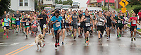 The 2015 Barnesville Rails to Trails 5K walk/run, Barnesville, Ohio June 27, 2015.