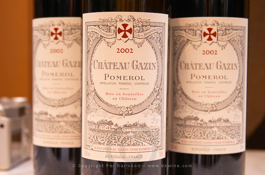 Chateau Gazin, Pomerol, Bordeaux, France
