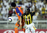 Al-Ittihad (KSA) vs Shandong Luneng (CHN) during the 2005 AFC Champions League Quarter-finals 2nd Leg match on 21 September 2005 at Prince Abdullah al-Faisal Stadium, Jeddah, Saudi Arabia.  Photo by Adnan Hajj Ali/World Sport Group.