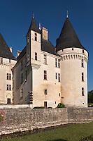 Europe/France/Aquitaine/24/Dordogne/Env de Périgueux/Antonne-et-Trigonant:  Château des Bories - L'angle sud-est du château