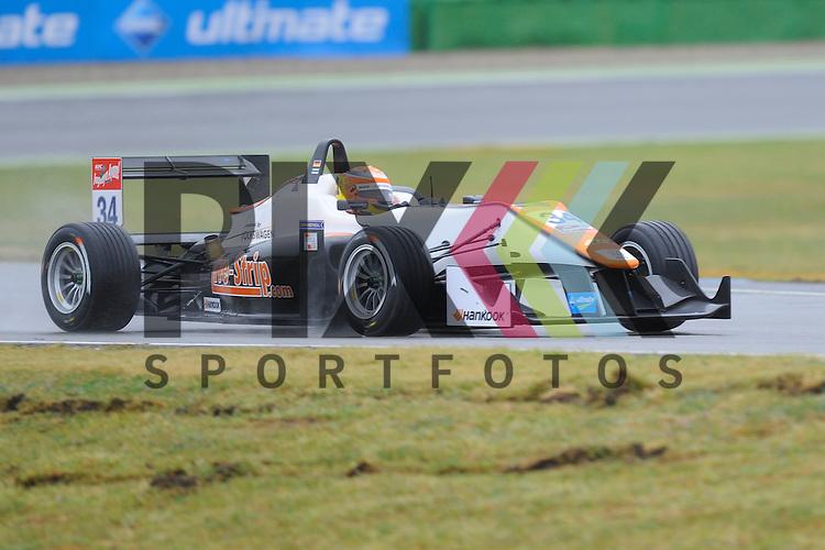 # 34 Markus Pommer / GER vom Motopark  bei der FIA Formula F 3 auf dem Hockenheimring.<br /> <br /> Foto &copy; P-I-X.org *** Foto ist honorarpflichtig! *** Auf Anfrage in hoeherer Qualitaet/Aufloesung. Belegexemplar erbeten. Veroeffentlichung ausschliesslich fuer journalistisch-publizistische Zwecke. For editorial use only.