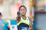 Rena Shimazu (JPN), <br /> AUGUST 31, 2018 - Modern Pentathlon : <br /> Women's Individual Combined <br /> at APM Equestrian Center <br /> during the 2018 Jakarta Palembang Asian Games <br /> in Banten, Indonesia. <br /> (Photo by Naoki Morita/AFLO SPORT)