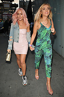 Lottie Tomlinson (Charlotte Tomlinson) and guest at the Spectrum x Disney: The Little Mermaid themed launch party, W Hotel, Wardour Street, London, England, UK, on Wednesday 30 May 2018.<br /> CAP/CAN<br /> &copy;CAN/Capital Pictures