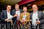 l-r  Morgan Sheehy, Tom Rooney, Eamon Brown and John Keating. enjoying the Na Gaeil Clubhouse Annual Race Night on Saturday