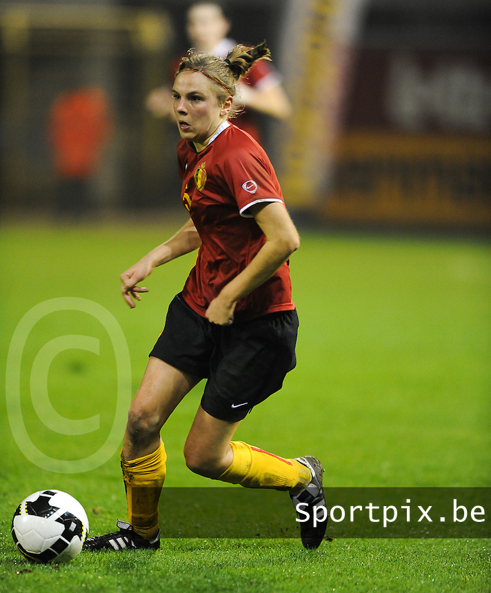 Belgium - Sweden : Lorca Van De Putte.foto DAVID CATRY / Vrouwenteam.be