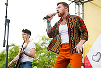 CARSON, CA - JUN 01  : Scotty Sire performs onstage during the KIIS FM Wango Tango Village at the 2019 iHeartRadio Wango Tango at Dignity Health Sports Park on June 01, 2019 in Carson, California.    <br /> CAP/MPI/IS<br /> ©IS/MPI/Capital Pictures