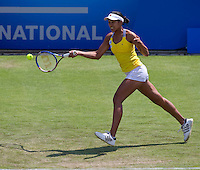 Anne Keothavong (GBR) against Daniela Hantuchova (SVK) in the first round of the women's singles. Daniela Hantuchova beat Anne Keothavong 6-2 6-4..International Tennis - 2010 Sony Ericsson WTA Tour - AEGON International - Devonshire Park Lawn Tennis Centre - Eastbourne - Day 1 - Mon 14 Jun 2010..© FREY - AMN Images - Level 1, 20-22 Barry House, 20-22 Worple Road, London, SW19 4DH.Tel - +44 (0) 208 947 0100.Email - mfrey@advantagemediannet.com.web - www.advantagemedianet.com