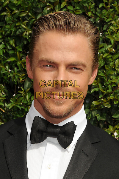 12 September 2015 - Los Angeles, California - Derek Hough. 2015 Creative Arts Emmy Awards - Arrivals held at the Microsoft Theatre. <br /> CAP/ADM/BP<br /> &copy;BP/ADM/Capital Pictures