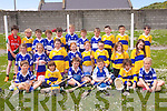 Ballyduff Central School at the North Kerry Primary schools Hurling Blitz at Ballyheigue on Thursday